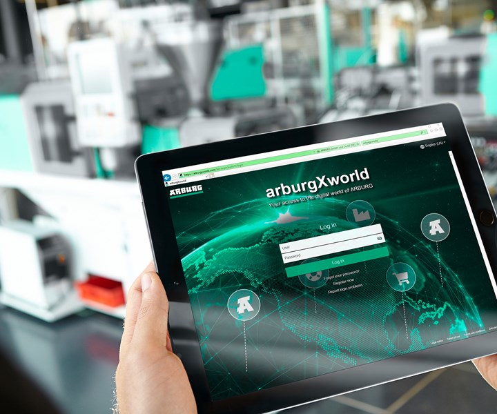 New arburgXworld customer portal is now available globally in 18 languages.