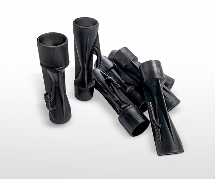 3D Systems prototype ventilator venturi valves.