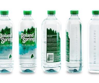 Poland Spring bottled water