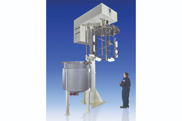 The VersaMix is available across a full range of working capacities from 1 quart to 2000 gal.