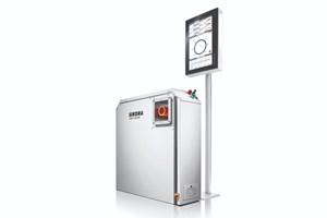 Sikora X-Ray 6000 Pro x-ray scanner for multilayer hoses and tubes.