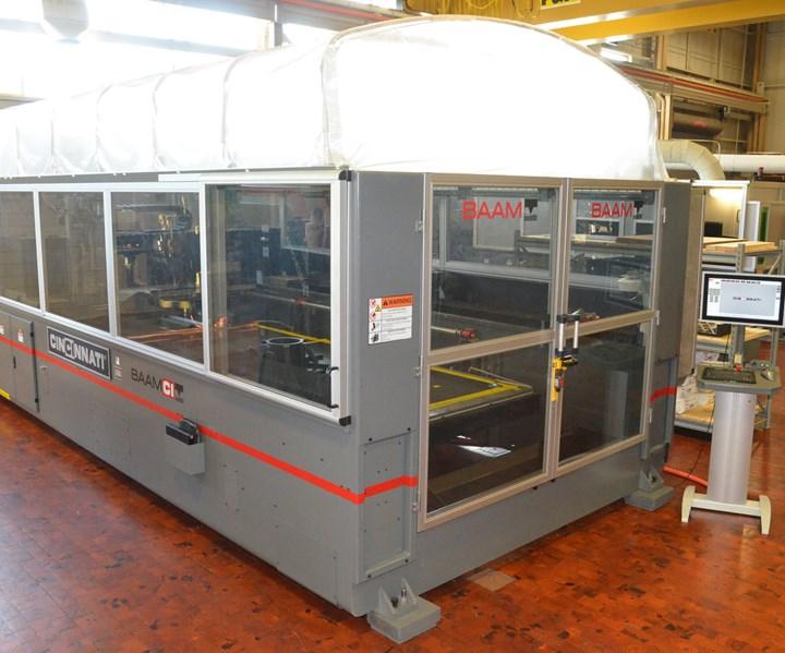 CI's Big Area Additive Manufacturing (BAAM) machine