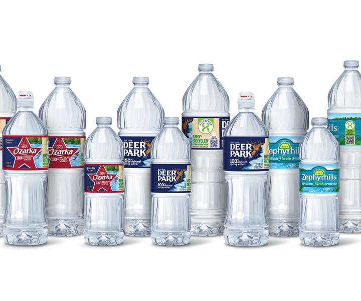 Nestle recycled bottles