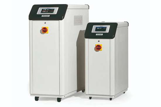 Frigel Microgel chiller/TCUs are engineered to record and monitor energy consumption, as well as other essential process-cooling data.