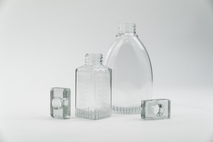 3D-printed parts with clear resin