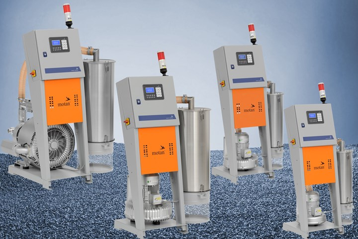 Compact Resin-Conveying System