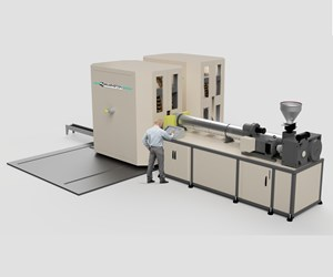 Novel Dual-Wheel Blow Molder Allows Quick Product Changes