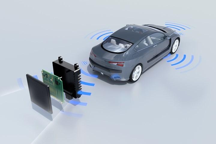 BASF's new Ultradur RX targeted to automotive radar sensors.