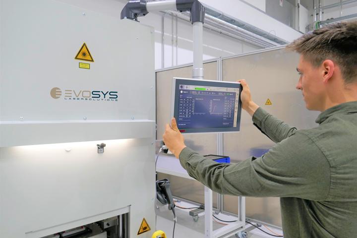 Evosys' Next Generation HMI plastics welding system