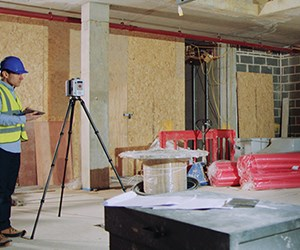 Testing: 3D Laser Scanner for Large-Scale Parts and Industrial Environments