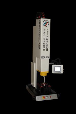 装配:高精度多功能双轴伺服旋转焊机