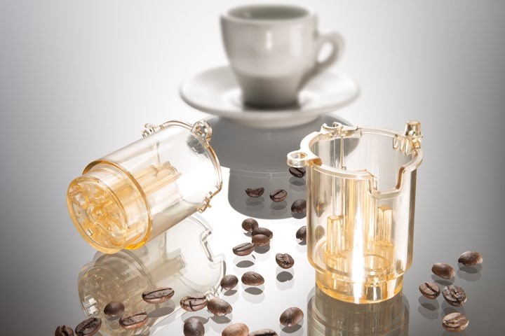 BASF's Ultrason E PESU used for upper piston of brewing unit in new coffee machine