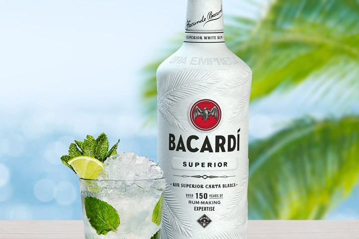 Bacardi to offer world's first 100% biodegradable spirits bottle made with Nodax PHA