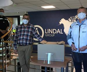 Lindal Converts Aerosol Manufacturing Equipment to Make Sustainable and Needed Face Shields in Fight Against Coronavirus