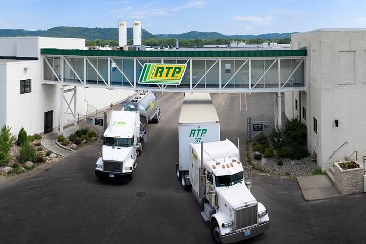 Custom engineered compounder RTP's facility.