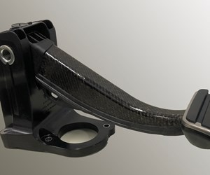 'First' All-Plastic Brake Pedal for Battery-Electric Sports Car