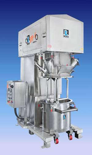 Double Planetary Mixers Granulate and Dry