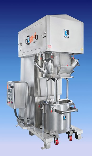 Granulating & Drying in Double Planetary Mixers