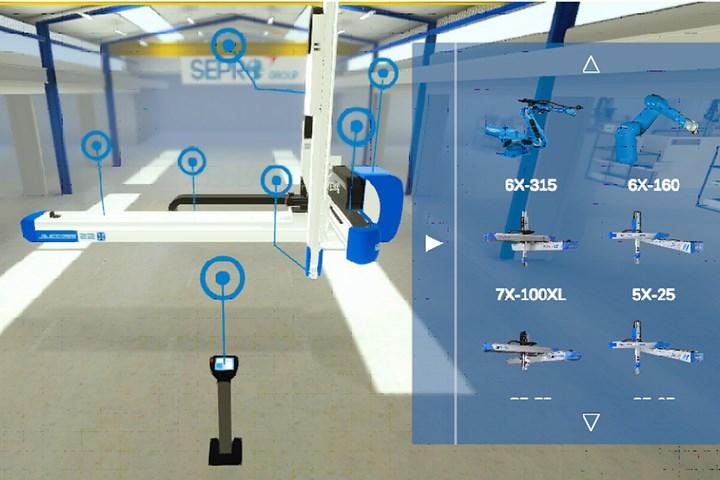 Sepro Group Virtual Showroom