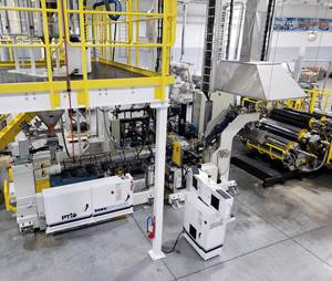Extrusion: Revamped High-Speed Line Packs More Processing Power, Flexibility