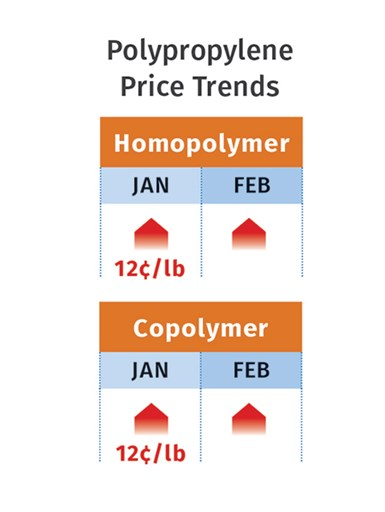 PP Prices February 2021
