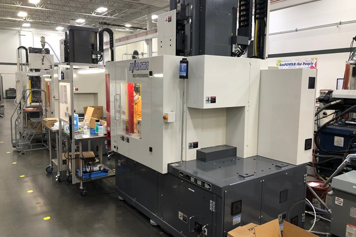Diversified Plastics Installs Six Vertical Injection Molding Machines