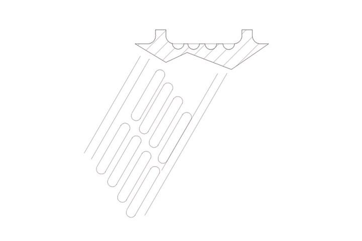 Glass fiber compounding on single screws