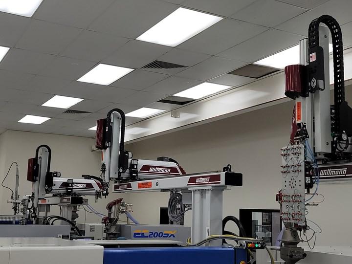 Wittmann Battenfeld robots