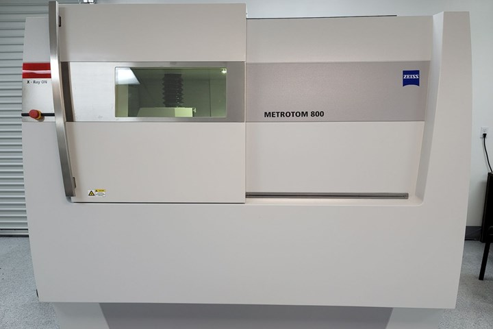 Zeiss MetroTom 800 computed tomography (CT) scanner
