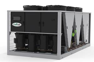 新的组合式制冷机生产线