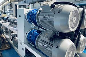 Twin-Screw Extruders with Energy-Saving Features