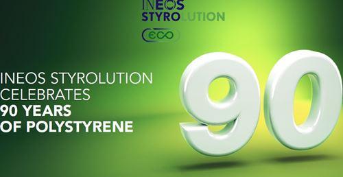 Ineos Styrolution庆祝90年的聚苯乙烯