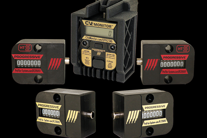 Progressive Components CounterView line of cycle counters