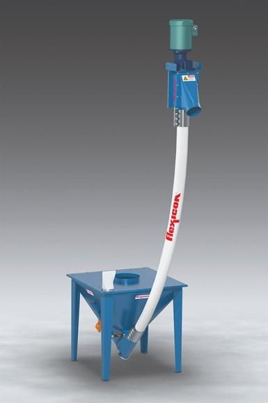 Screw Conveyor for Abrasive Materials