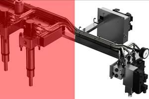 液压驱动闸阀系统的行程调节器