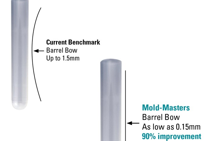 Molding Straighter Medical Tubes: New Hot-Runner Technology Battles Core Shift