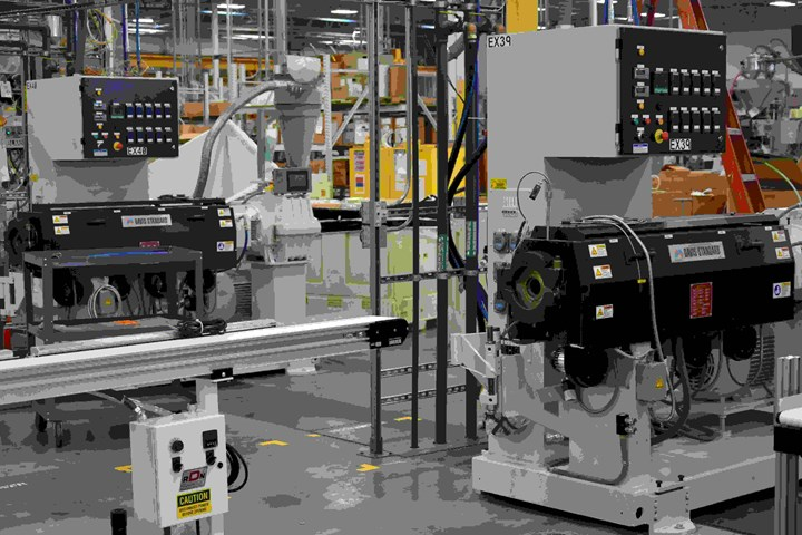 Teel Installs New Extruders to Make COVID Testing Swabs
