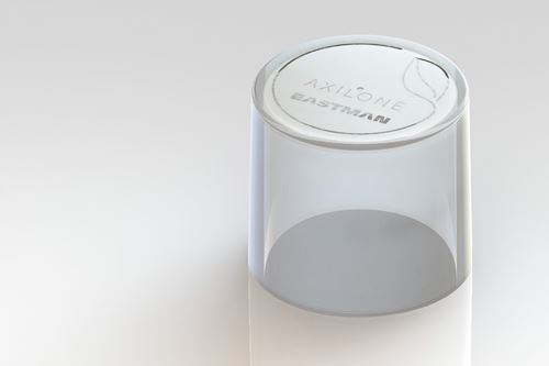 Cosmetics Packaging Made with Eastman Cristal Renew