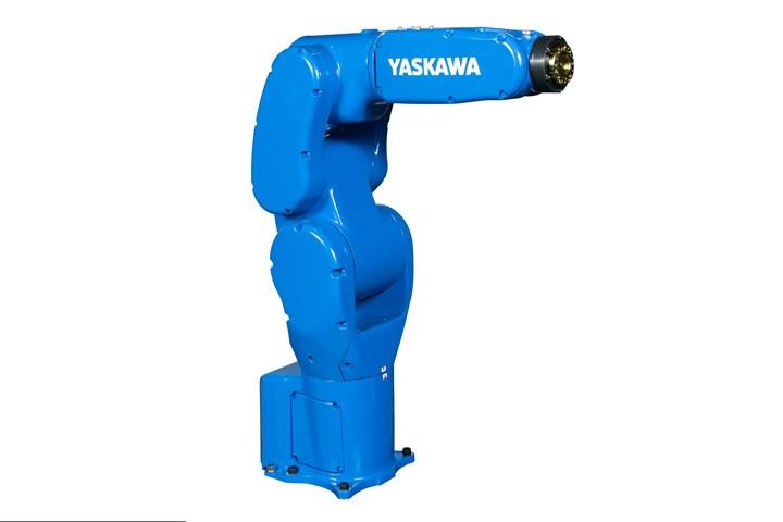New Yaskawa Motoman GP4 six-axis robot.