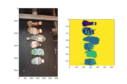 人工智能用于自动分类塑料
