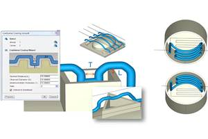 Upgraded Simulation Package Adds Nozzle Zone & Conformal Cooling 'Wizards'