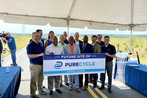 PureCycle将在乔治亚州建立新的回收工厂