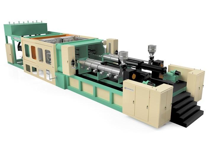 威明顿机械HE-1500低压泡沫压机