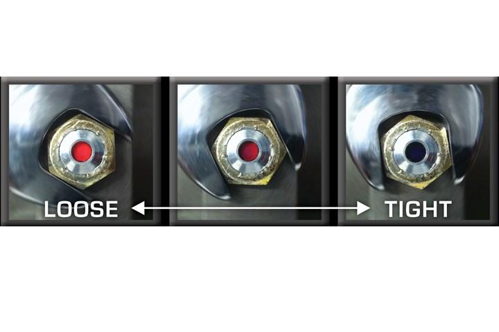 Tension-indicating Smart Bolts