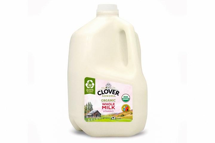 Clover Sonoma将在美国推出首个含有消费后回收内容的HDPE加仑牛奶壶。