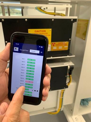 应用程序与胶片测量系统配合使用