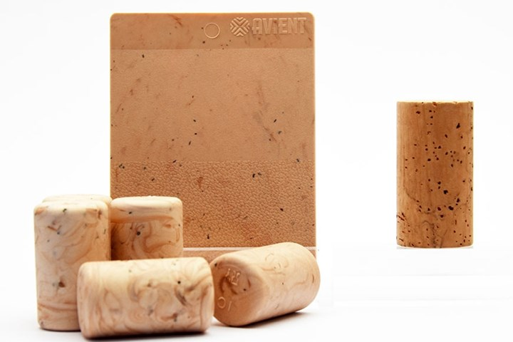 Avient launches special-effect masterbatch that create natural-looking cork TPEs