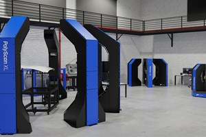 3D Scanner for Inspection of Large Parts