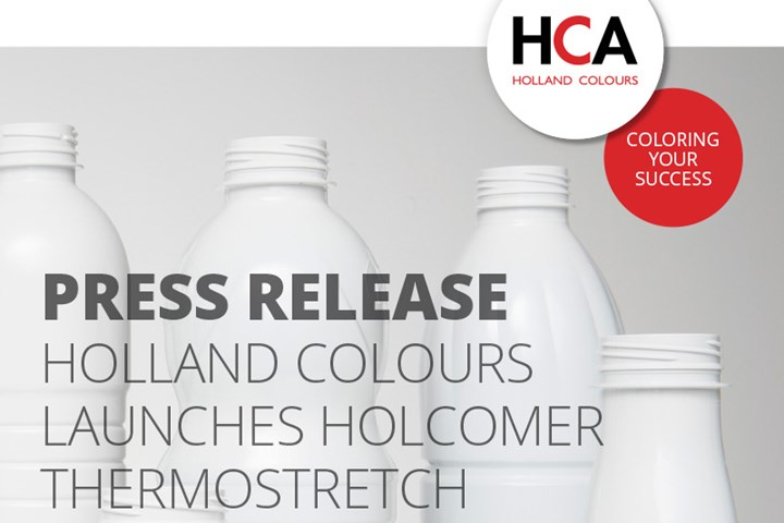 Holland Colours launched Thermostretch UV additive for PET dairy bottles