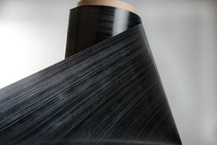 Teijin Carbon new PPS-based  carbon fiber TPUD tape